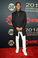 6 January 2018 - Los Angeles, California - RJ Cyler. Showtime Golden Globe Nominee Celebration held at the Sunset Tower Hotel in Los Angeles. Photo Credit: AdMedia