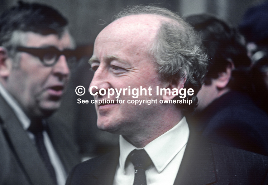 Michael D Higgins, TD, Labour Party, Galway West, Rep of Ireland. 198202041MDH..Copyright Image from Victor Patterson, 54 Dorchester Park, Belfast, UK, BT9 6RJ..Tel: +44 28 9066 1296.Mob: +44 7802 353836.Voicemail +44 20 8816 7153.Skype: victorpattersonbelfast.Email: victorpatterson@me.com.Email: victorpatterson@ireland.com (back-up)..IMPORTANT: If you wish to use this image or any other of my images please go to www.victorpatterson.com and click on the Terms & Conditions. Then contact me by email or phone with the reference number(s) of the image(s) concerned.