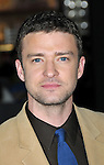 Justin Timberlake at the premiere of In Time held at The Regency Village Theater in Westwood, Ca. October 20, 2011