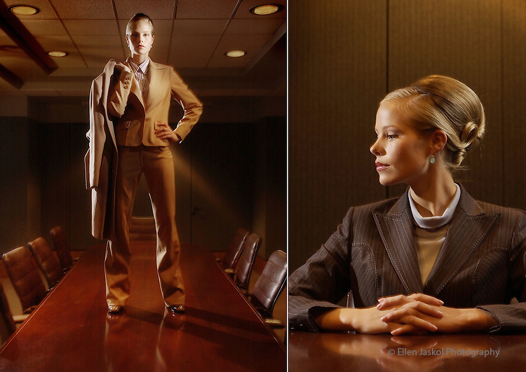 (DENVER, Colo., 10/29/2004)   Fashion for the corporate world.  (photo by ELLEN JASKOL/ROCKY MOUNTAIN NEWS)