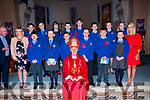 The pupils from Asdee national school who were confirmed in Ballylongford  church  by Bishop Ray Browne on Friday last with their teachers M/S Sheehy & M/s Regan & Fr>Kennelly, PP Ballylongford.