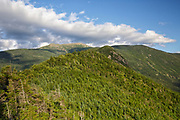 Franconia Notch State Park - Mount Lafayette from Eagle Cliff in the White Mountains, New Hampshire USA during the summer months.