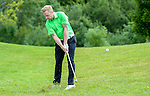 Ireland&rsquo;s Ronan Keating hits a shot out of the rough<br /> <br /> Golf - Day 1 - Celebrity Cup - Saturday 4th July 2015 - Celtic Manor Resort  - Newport<br /> <br /> &copy; www.sportingwales.com- PLEASE CREDIT IAN COOK
