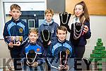Tadgh O'Carroll, Mark Hennessy, Ronan O'Neill, Aaron McCarthy and Megan Gill. at the St. Joseph's Secondary School, Ballybunion  Annual Christmas Fair on Monday