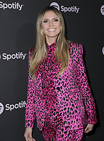 07 February 2019 - Westwood, California - Heidi Klum. Spotify &quot;Best New Artist 2019&quot; Event held at Hammer Museum. <br /> CAP/ADM/PMA<br /> &copy;PMA/ADM/Capital Pictures