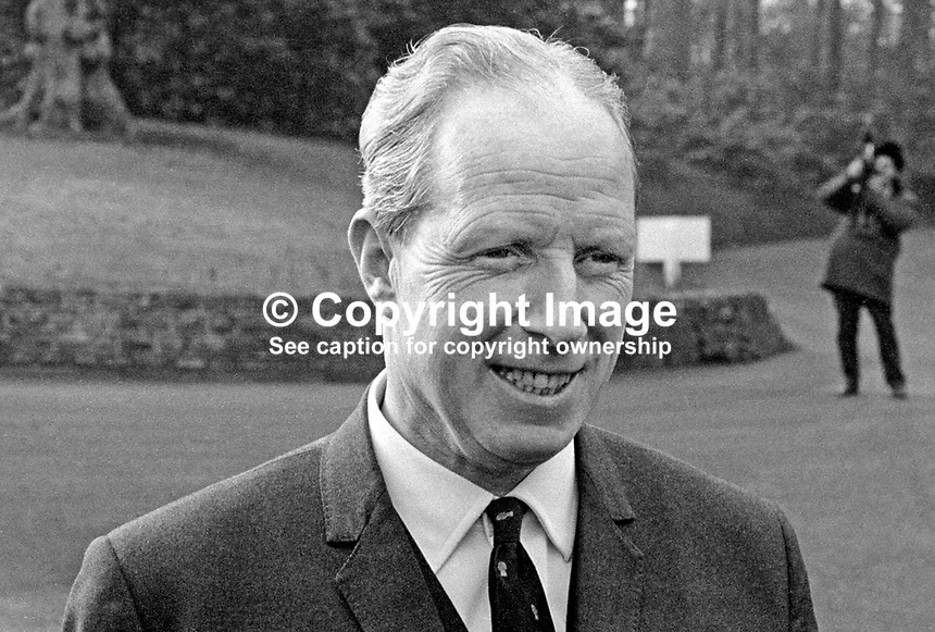 Walter Williams, secretary, Grand Orange Lodge of Ireland, March 1971, 197103000133WW1<br /> <br /> Copyright Image from Victor Patterson, 54 Dorchester Park, Belfast, UK, BT9 6RJ<br /> <br /> Tel: +44 28 9066 1296<br /> Mob: +44 7802 353836<br /> Voicemail +44 20 8816 7153<br /> Email: victorpatterson@me.com<br /> Email: victorpatterson@gmail.com<br /> <br /> IMPORTANT: My Terms and Conditions of Business are at www.victorpatterson.com