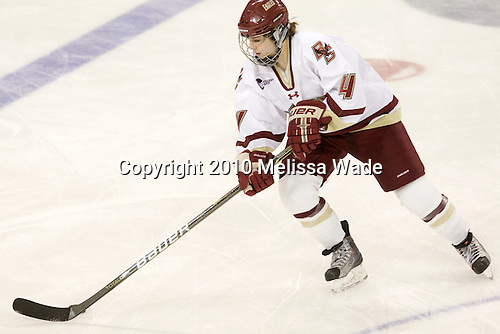 Melissa Bizzari (BC - 4) - The visiting Boston University Terriers defeated the Boston College Eagles 1-0 on Sunday, November 21, 2010, at Conte Forum in Chestnut Hill, Massachusetts.