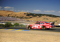 Jun. 21, 2009; Sonoma, CA, USA; NASCAR Sprint Cup Series driver Juan Pablo Montoya during the SaveMart 350 at Infineon Raceway. Mandatory Credit: Mark J. Rebilas-