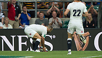 Twickenham, Surrey, United Kingdom. Danny CARE, with time to spare touches down in the corner,  during the, Old Mutual Wealth Cup, England vs Barbarian's match, played at the  RFU. Twickenham Stadium, on Sunday   28/05/2017England    <br /> <br /> [Mandatory Credit Peter SPURRIER/Intersport Images]