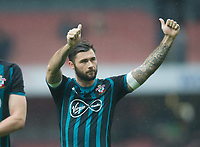 Southampton's Charlie Austin after the EPL - Premier League match between Arsenal and Southampton at the Emirates Stadium, London, England on 8 April 2018. Photo by Andrew Aleksiejczuk / PRiME Media Images.