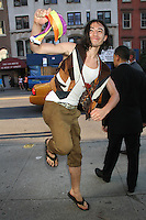 June 27, 2012 Ezra Miller at the special screening of Universal Pictures' Savages at the SVA Theater in New York City. © RW/MediaPunch Inc *NORTEPHOTO*COM*<br /> **SOLO*VENTA*EN*MEXICO**<br /> **CREDITO*OBLIGATORIO** <br /> *No*Venta*A*Terceros*<br /> *No*Sale*So*third*<br /> *** No Se Permite Hacer Archivo**