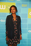 Guiding Light's Sharon Leal is in the new show Hellcats at The CW Upfront 2010 green carpet arrivals on May 20, 2010 at Madison Square Gardens, New York, New York. (Photo by Sue Coflin/Max Photos)