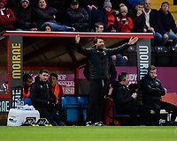 Lincoln City manager Danny Cowley appeals for a decision<br /> <br /> Photographer Chris Vaughan/CameraSport<br /> <br /> Emirates FA Cup First Round - Lincoln City v Northampton Town - Saturday 10th November 2018 - Sincil Bank - Lincoln<br />  <br /> World Copyright © 2018 CameraSport. All rights reserved. 43 Linden Ave. Countesthorpe. Leicester. England. LE8 5PG - Tel: +44 (0) 116 277 4147 - admin@camerasport.com - www.camerasport.com