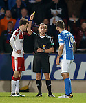 Halliday and Foster booked