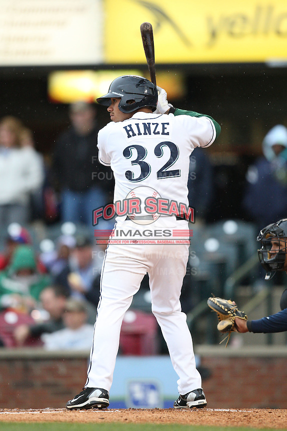 April 20, 2010: Kody Hinze (32) of the Lexington Legends at Applebee's Park in Lexington, KY. The Legends are the Class A affiliate of the Houston Astros. Photo by: Chris Proctor/Four Seam Images