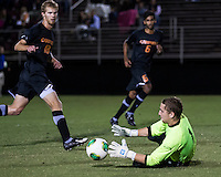 The Winthrop University Eagles lose 2-1 in a Big South contest against the Campbell University Camels.  Ethan Hall (1), Michael Wisniewski (18)