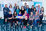Killarney KDYS who were working with organisations from Europe in the fields of developing skills for young people in the fields of Digital and Future skills on Friday front row l-r: Ana Badescu, Imen Haees, Cordelia Badescu, Magda Kempka, Eileen Kelly, Ula Puchalska, Back row:  Declan Lowe, Aketeryna Pashevych, Paula Veuvam, Gareth Harteveld, Stephen Daly, Abdurrahim Gunaydin, Jen Hesman, Anne L'henoret, Janice Feighery, Cormac Lally, Tracey Moore,