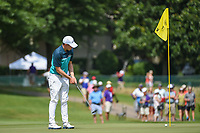 Matt Fitzpatrick (ENG) barely misses his putt on 12 during round 3 of the WGC FedEx St. Jude Invitational, TPC Southwind, Memphis, Tennessee, USA. 7/27/2019.<br /> Picture Ken Murray / Golffile.ie<br /> <br /> All photo usage must carry mandatory copyright credit (© Golffile | Ken Murray)
