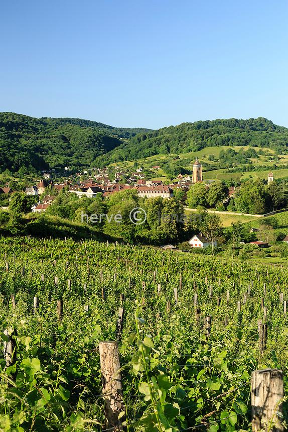 France, Jura (39), Arbois et son vignoble // France, Jura, Arbois and it's vineyard