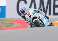 Italian Rider Simone Corsi lead Moto2 At Grand Prix Motorland Aragon 2012