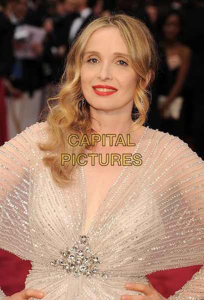 HOLLYWOOD, CA- MARCH 02: Actress/screenwriter Julie Delpy attends the 86th Annual Academy Awards held at Hollywood &amp; Highland Center on March 2, 2014 in Hollywood, California.<br /> CAP/ROT/TM<br /> &copy;Tony Michaels/Roth Stock/Capital Pictures
