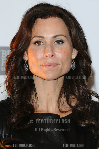 Minnie Driver attends the photocall for 'Conviction' as part of the 2010 London Film Festival, at the Vue cinema, Leicester Square, London.  16/10/2010 Picture by: Steve Vas / Featureflash