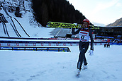 12th January 2018, Val di Fiemme, Fiemme Valley, Italy; FIS Nordic Combined World Cup, Mens Gundersen; Johannes Rydzek (GER)