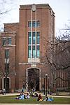 The John T. Richardson Library on DePaul's Lincoln Park Campus. (DePaul University / Jeff Carrion)