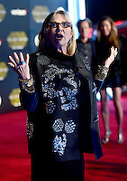 CARRIE FISHER @ the premiere of 'Star Wars: The Force Awakens' held @ Hollywood & Highland. December 14, 2015