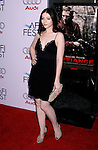 """HOLLYWOOD, CA. - November 09: Actress Michelle Trachtenberg arrives at the 2008 AFI Film Festival Presents """"Defiance"""" at The ArcLight Cinemas on November 9, 2008 in Hollywood, California."""