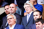 Atletico de Madrid's President Enrique Cerezo during La Liga match. May 21,2017. (ALTERPHOTOS/Acero)