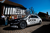 Picture by Alex Whitehead/SWpix.com - 13/05/2018 - British Cycling - HSBC UK Spring Cup Series - Lincoln Grand Prix - Brother, car, vehicle, neutral service.