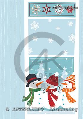 Isabella, CHRISTMAS SANTA, SNOWMAN, paintings, ITKE527370-THS,#x# Weihnachtsmänner, Schneemänner, Weihnachen, Papá Noel, muñecos de nieve, Navidad, illustrations, pinturas