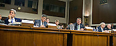 "Administration officials, from left to right, United States Secretary of State John F. Kerry, US Secretary of the Treasury Jacob Lew, US Secretary of Defense Ashton Carter, US Secretary of Energy Ernest Moniz, and US Army General Martin E. Dempsey, the Chairman of the Joint Chiefs of Staff, give testimony before the United States Senate Committee on Armed Services concerning ""Impacts of the Joint Comprehensive Plan of Action (JCPOA) on U.S. Interests and the Military Balance in the Middle East"" on Capitol Hill on Wednesday, July 29, 2015.<br /> Credit: Ron Sachs / CNP"