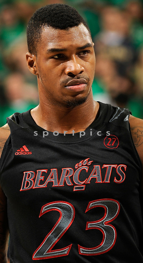 Cincinnati Bearcats Sean Kilpatrick (23) during a game against Notre Dame on February 24, 2013 at the Purcell Pavilion in South Bend, IN. Notre Dame beat Cincinnati 62-41.