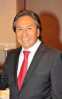 Montreal (QC) CANADA, 2010 FILE PHOTO - Alejandro Toledo, President , Peru