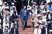 June 11th 2017, Roland Garros, paris, France; French Open tennis championship, mens singles final; Rafael Nadal versus Stan Wawrinka; Bernard Giudicelli, Président de la FFT
