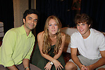 One Life To Live's Nick Choksi - BethAnn Bonner - Andrew Trischitta at the Daytime Stars and Strikes Charity Event to benefit the American Cancer Society at the Bowlmore Lanes, New York City, New York. (Photo by Sue Coflin/Max Photos)
