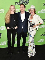 "HOLLYWOOD, CA - SEPTEMBER 04: (L-R) Suzy Amis Cameron, Dr. Dean Ornish and Anne Ornish attend the LA Premiere Of ""The Game Changers"" at ArcLight Hollywood on September 04, 2019 in Hollywood, California.<br /> CAP/ROT/TM<br /> ©TM/ROT/Capital Pictures"