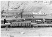 D&amp;RGW Durango stock yards built in 1938 south of main yards.<br /> D&amp;RGW  Durango, CO