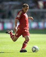 FUSSBALL   1. BUNDESLIGA  SAISON 2011/2012   5. Spieltag FC Bayern Muenchen - SC Freiburg         10.09.2011 Rafinha (FC Bayern Muenchen)