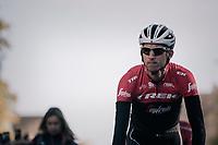 Bauke Mollema (NED/Trek-Segafredo) on his way to sign-on<br /> <br /> Il Lombardia 2017<br /> Bergamo to Como (ITA) 247km