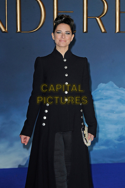 LONDON, ENGLAND - MARCH 19: Belinda Stewart attending the 'Cinderella' UK Premiere at Odeon Cinema, Leicester Square on March 19, 2015 in London, England<br /> CAP/MAR<br /> &copy; Martin Harris/Capital Pictures