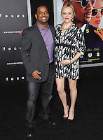 Alfonso Ribeiro &amp; wife Angela at the Los Angeles premiere of &quot;Focus&quot; at the TCL Chinese Theatre, Hollywood.<br /> February 24, 2015  Los Angeles, CA<br /> Picture: Paul Smith / Featureflash
