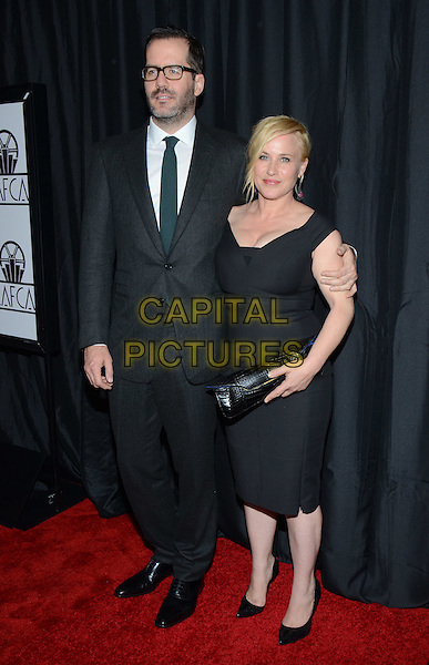 10 January 2015 - Century City, California - Eric White, Patricia Arquette. The 40th Annual Los Angeles Film Critics Association Awards held at InterContinental Los Angeles. <br /> CAP/ADM/TW<br /> &copy;Tonya Wise/AdMedia/Capital Pictures
