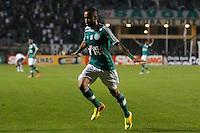 SAO PAULO, SP 30 JULHO 2013 -  - O jogador Wesley do time do Palmeiras , comemora o terceiro golda noite de hoje, 30, no Estádio do Pacaembú. FOTO: PAULO FISCHER/BRAZIL PHOTO PRESS