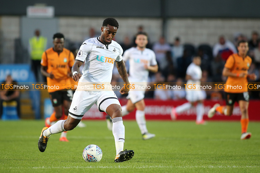 Leroy Fer of Swansea City in action during Barnet vs Swansea City, Friendly Match Football at the Hive Stadium on 12th July 2017