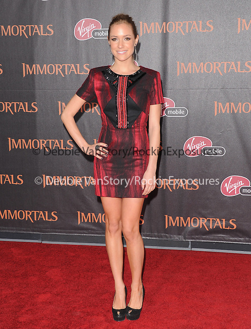 Kristin Cavallari attends the Relativity World Premiere of Immortals held at The Nokia Theater Live in Los Angeles, California on November 07,2011                                                                               © 2011 DVS / Hollywood Press Agency