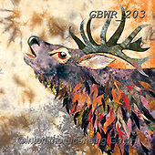 Simon, REALISTIC ANIMALS, REALISTISCHE TIERE, ANIMALES REALISTICOS, innovative, paintings+++++KateF_RussetStag,GBWR203,#a#, EVERYDAY ,deer