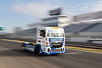 German driver Jochen  Hahn belonging German team Jochen Hahn during the super pole SP2 of the XXX Spain GP Camion of the FIA European Truck Racing Championship 2016 in Madrid. October 02, 2016. (ALTERPHOTOS/Rodrigo Jimenez)
